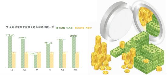 跨境资本流入 外汇储备规模持续上升
