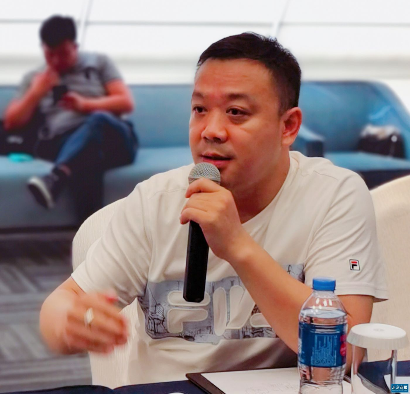 3D无漆木门品牌总监贾唯甄
