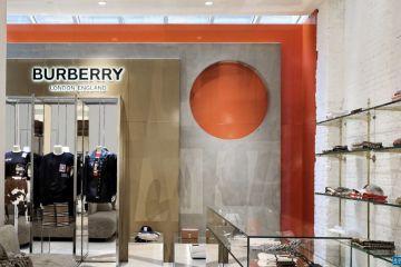 奢侈品消费需求下降 Burberry一季度可比销售额跌45%