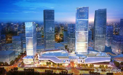 多个商业综合体进驻 重庆两江国际商务中心开始集中招商