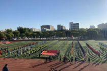 首都高校第58届学生田径运动会开幕