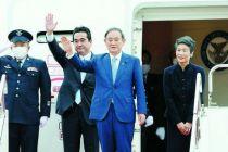 菅义伟任日本首相后首次出访