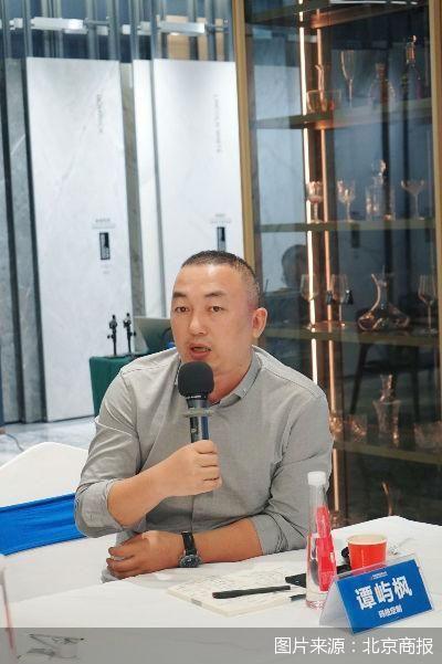 玛格定制家居品牌中心总经理谭屿枫