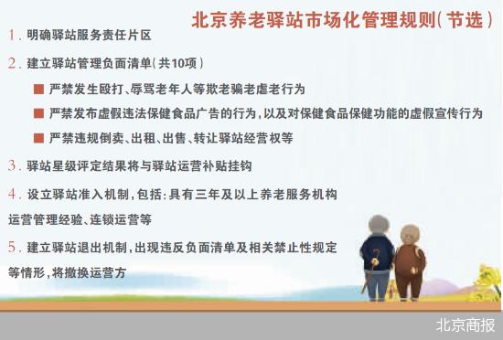 建立管理负面清单制度 北京养老驿站重回市场化