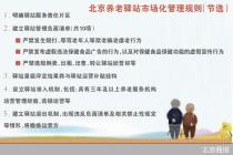 發布負面清單 北京養老驛站重回市場化