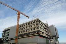 怀柔医院二期扩建完成二次结构施工 预计明年9月竣工