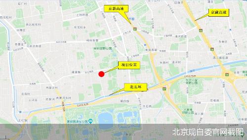 北京规自委官网截图