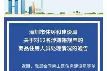 涉嫌违规申购 深圳华润城润玺一期12人被暂停网签和公积金贷款