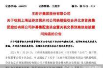 王府井收问询函 需说明合并首商股份的整合协同措施