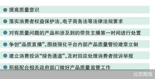 """市场监管总局对直播带货平台提出六点要求 建立消费投诉""""绿色通道"""""""