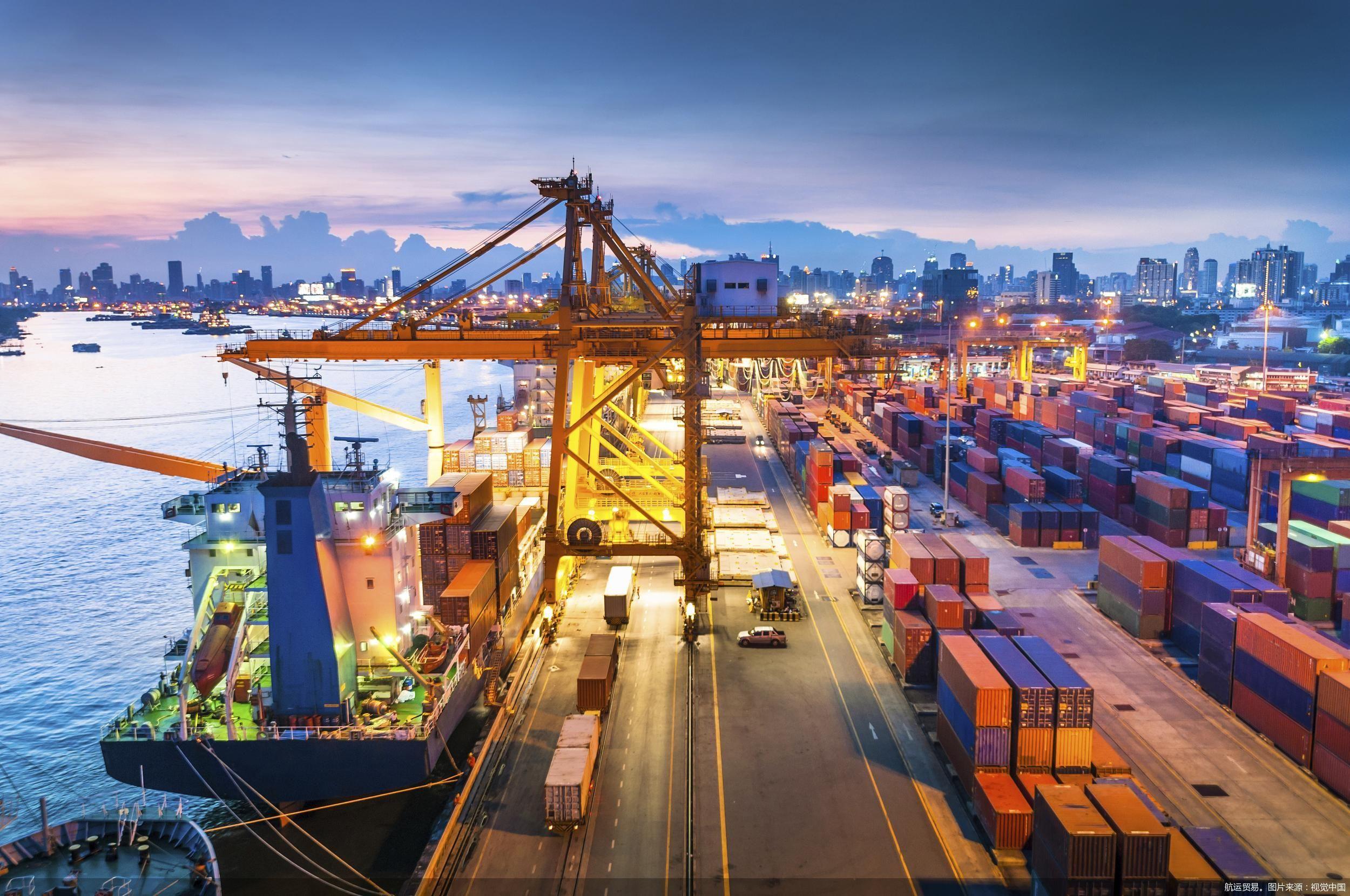 航运贸易。图片来源:视觉中国