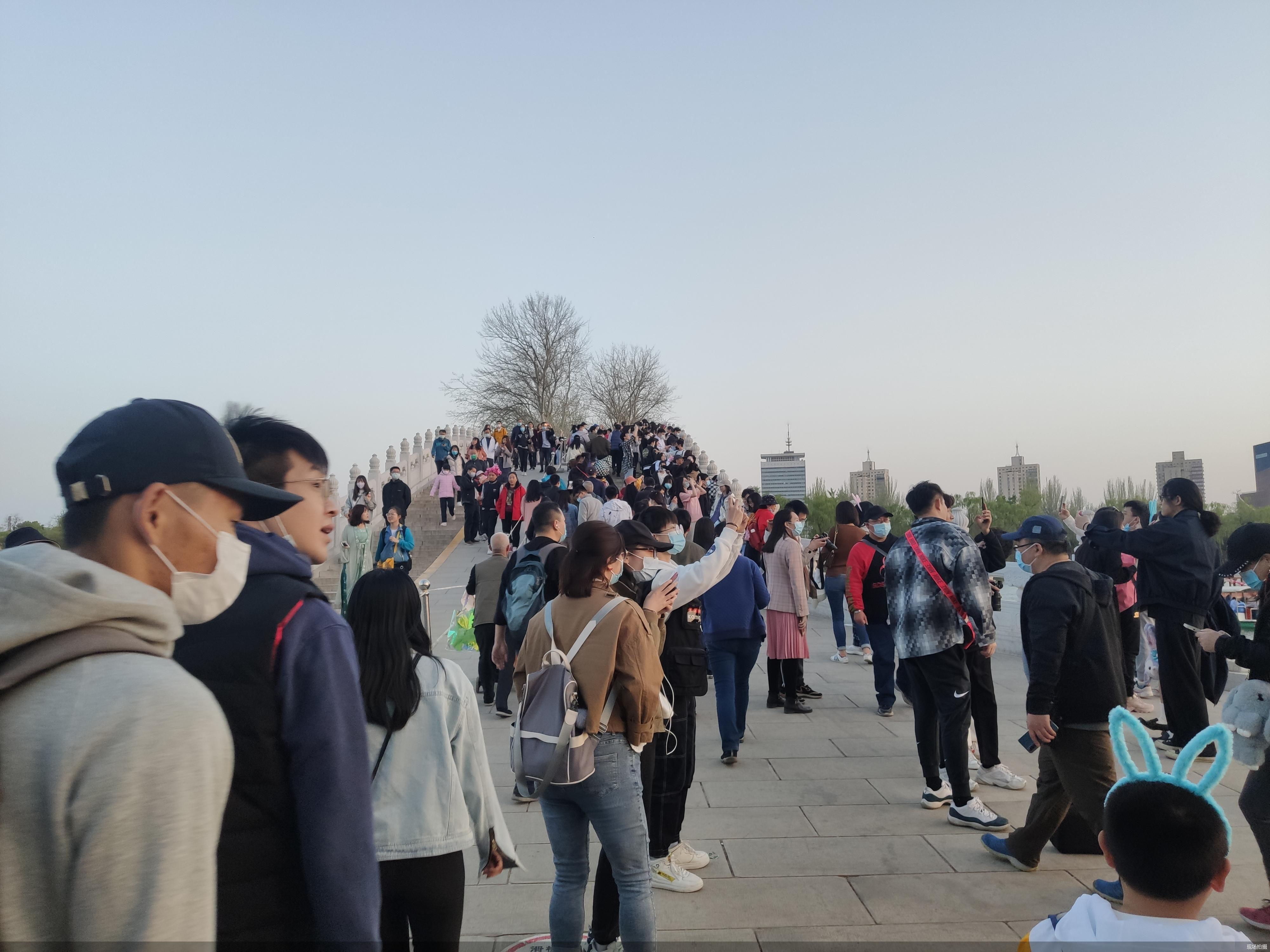 清明三天北京市屬11家公園和中國園林博物館共接待游客164.25萬人次
