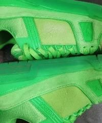 鞋一擦就掉色、包油边开裂 LV质量不抗打