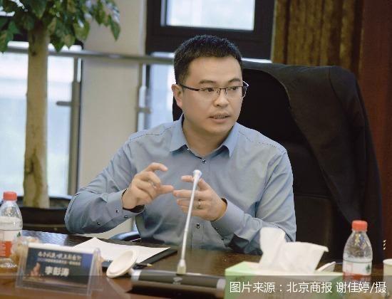 久盛地板副总裁李彭涛