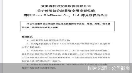 爱美客加速扩张步伐 该公司肉毒素产品Hutox在国内已进入临床III期
