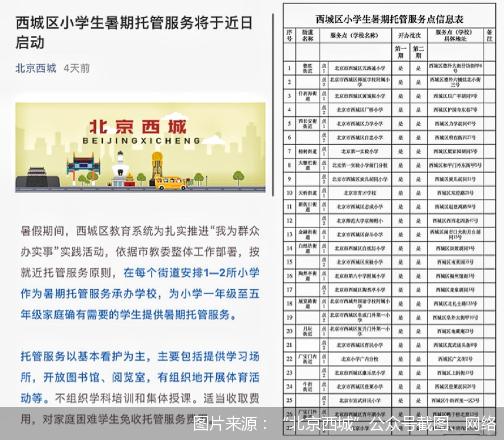 """北京的暑期托管班开始落地 12天360元让不少家长大呼""""真香"""""""