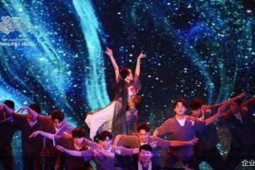 《这!就是街舞》选手领舞杭州亚运会开幕式开场表演《遇见杭州》