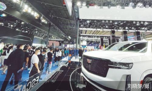 2021成都车展:豪华走量车型密集亮相 新能源车混战加剧