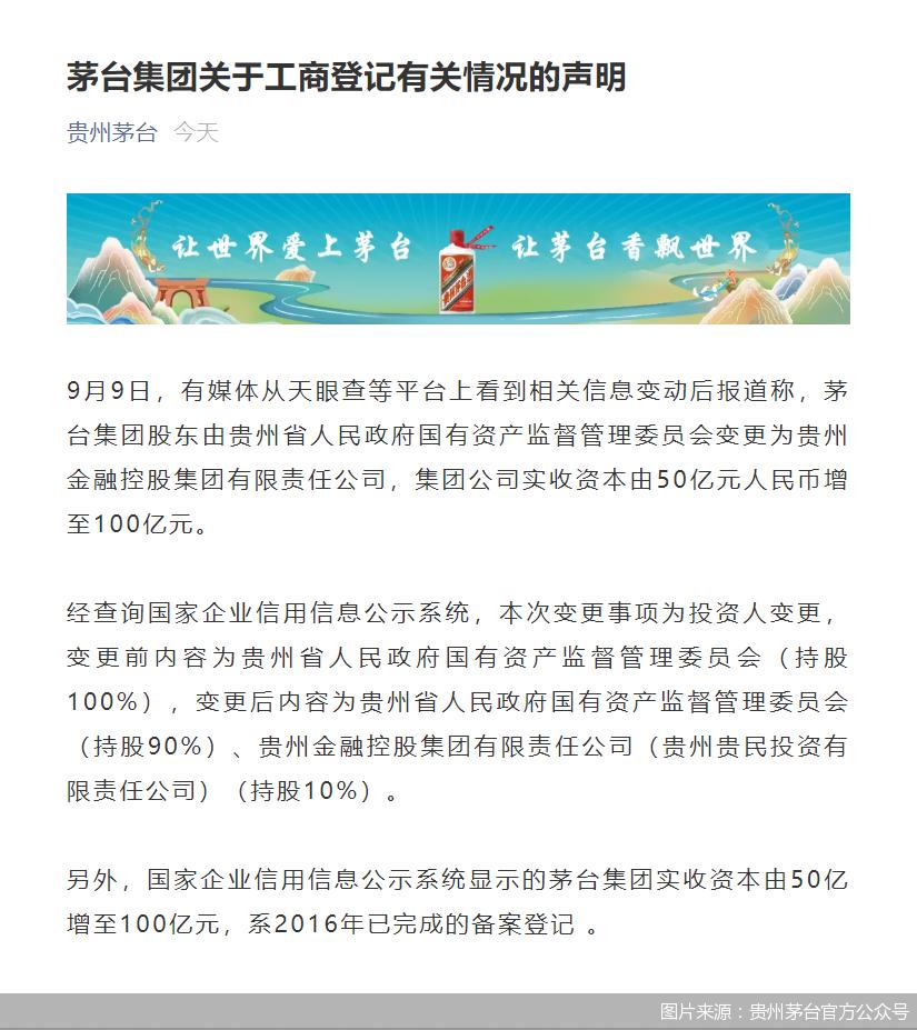 图片来源:贵州茅台官方公众号